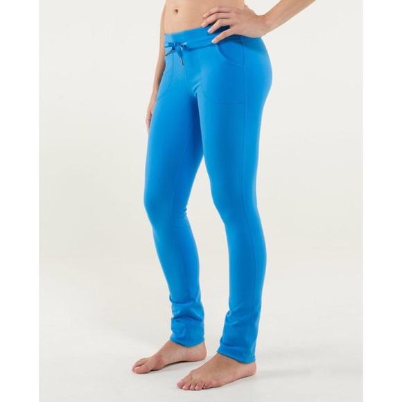 Lululemon Skinny Will Pant, Size 6, NWT, Corn Blue
